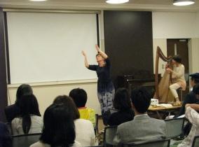 ハープとリタージカルダンス2