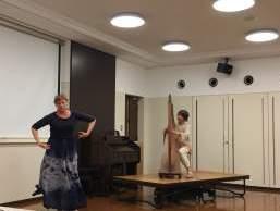 ハープとリタージカルダンス