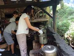 野外料理・カレー作り