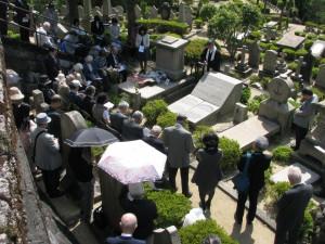 J.W.ランバス墓参礼拝