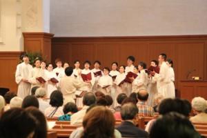 関西学院聖歌隊によるコンサート